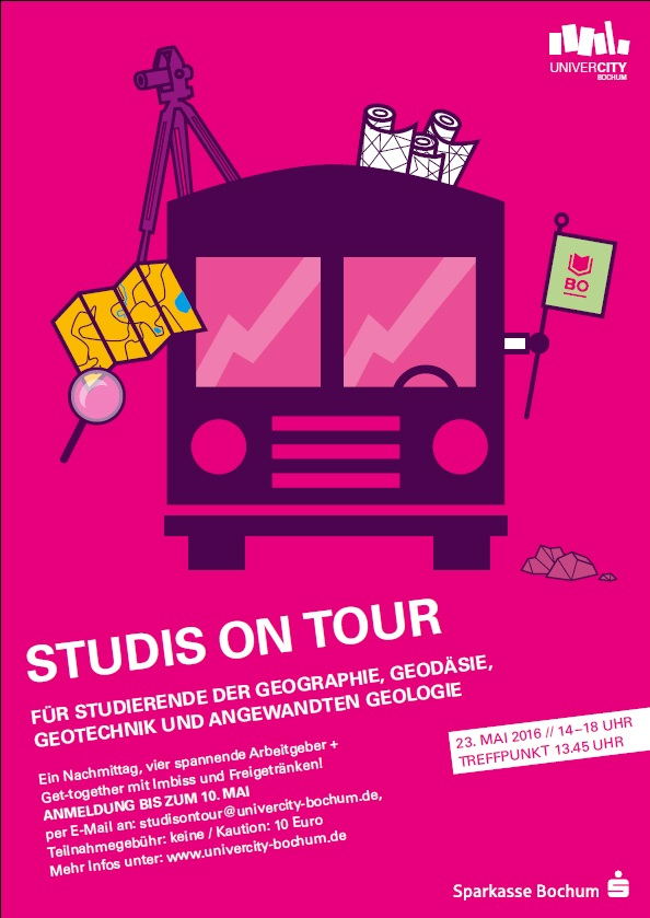 Plakat Studis on Tour 2016